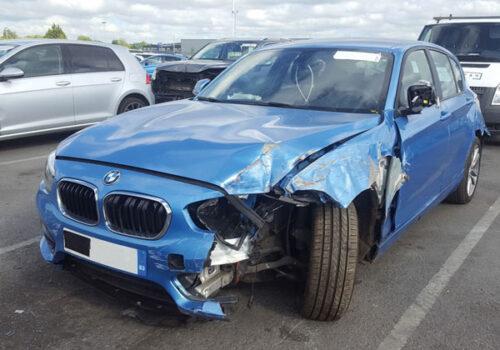Clifford James Diminution Insurance - damaged car